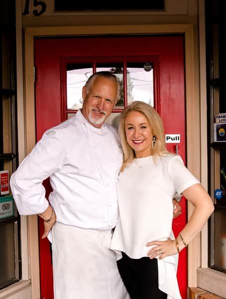 Rick and Reisa, owners of Montalcino Ristorante Italiano