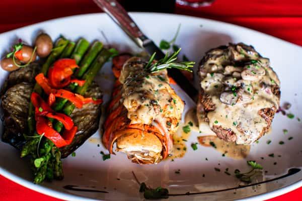 filet mignon lobster