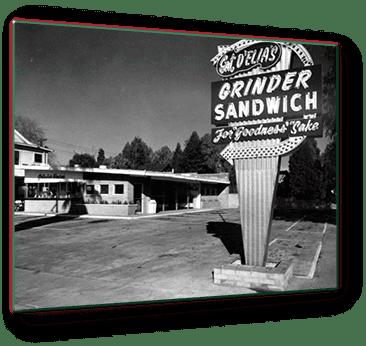 1955 restaurant sign