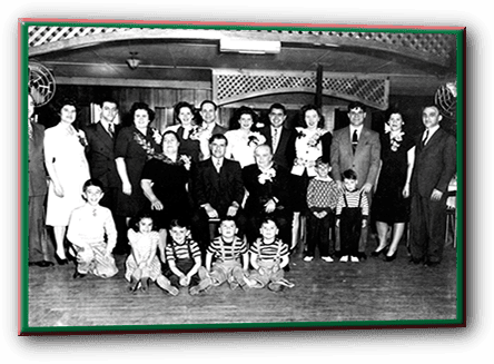 D'Elia's family