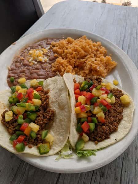 Quinoa Vegetarian Taco