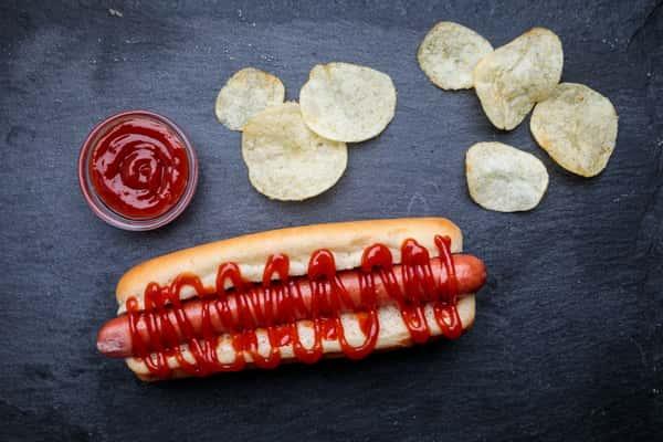 Ketchup dog