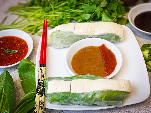 Vegetable & Tofu Spring Roll