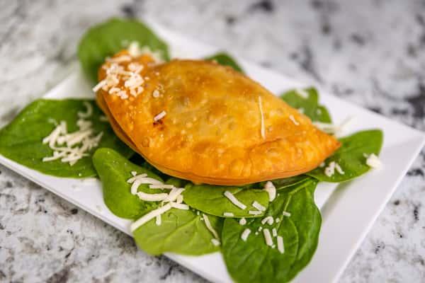 Spinach & Cheese Empanada
