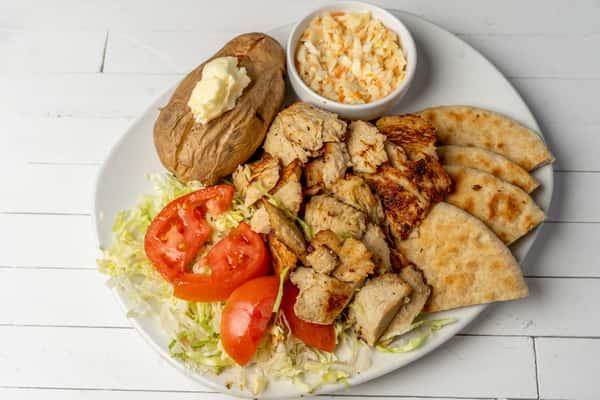 *Chicken Gyros Plate