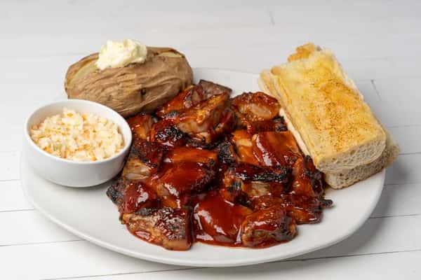 rib tips meal