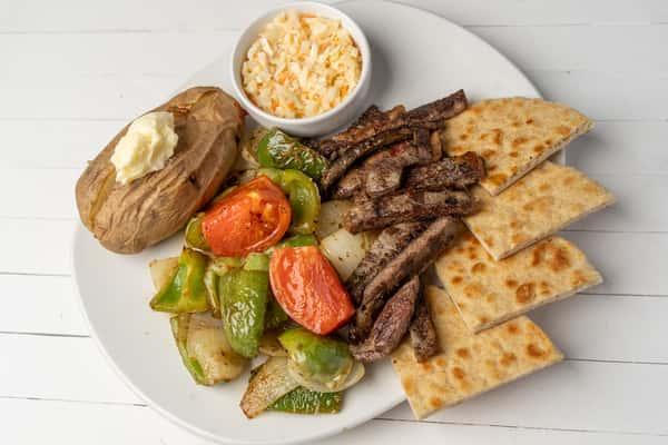 *Beef Kabob Plate