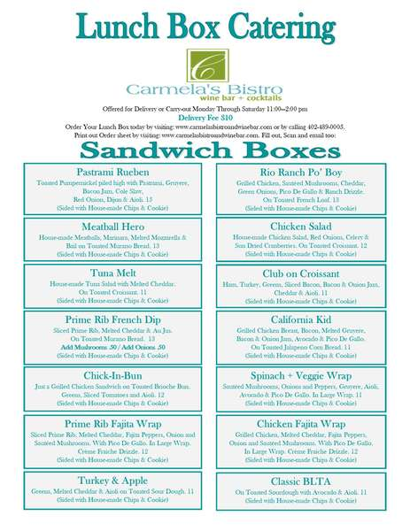 Lunch Box pg 1