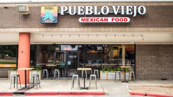 Exterior of Pueblo Viejo Mexican Food