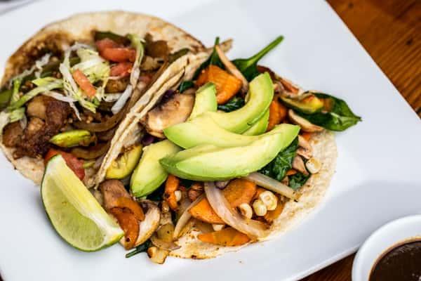 Veggie and Fish Taco