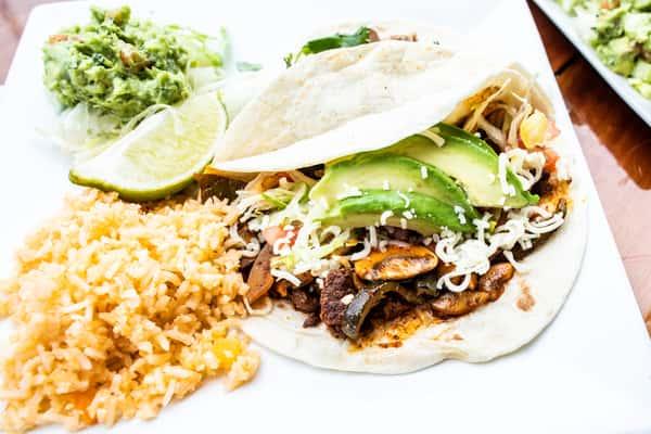 Pueblo Viejo Style Taco