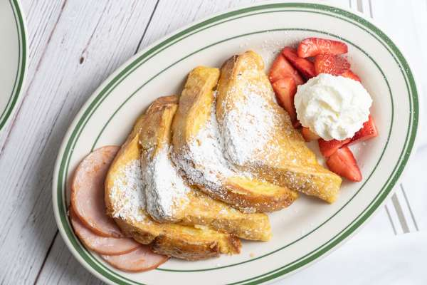 French Toast with Canadian Bacon or Bacon