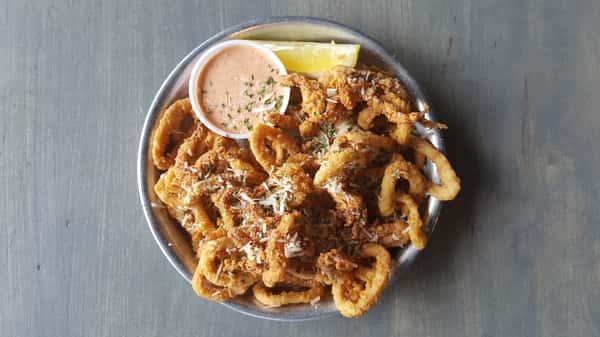 Parmesan Calamari