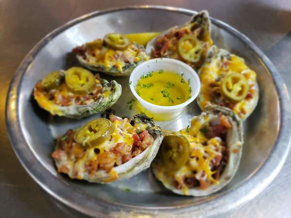 Award Winning Chargrilled Oysters