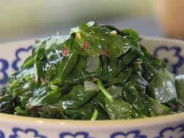 Sautéed Baby Spinach