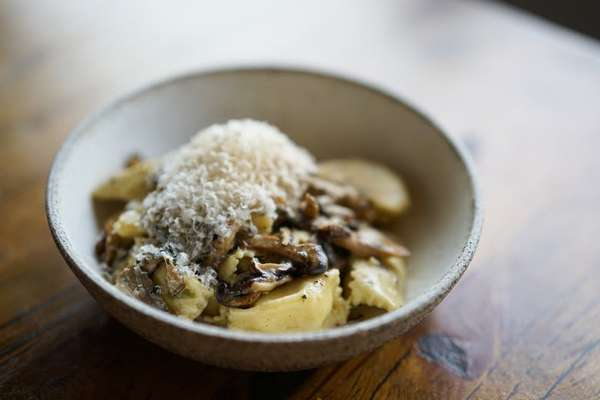 Agnolotti Pasta with Ricotta and Parmesan Filling