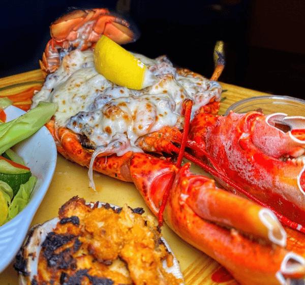 Overstuffed Lobster