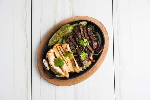 Beef & Chicken Fajitas