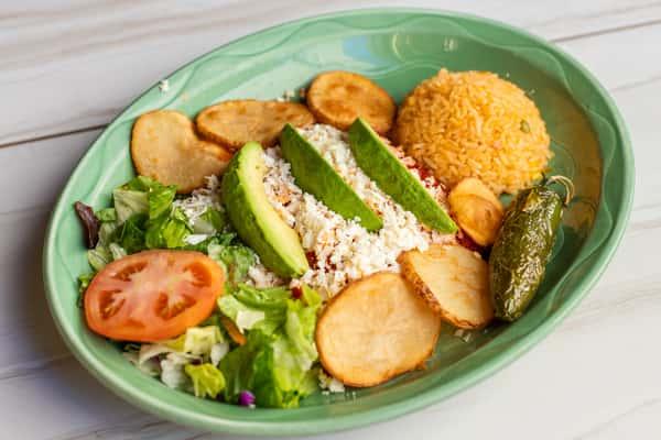 Enchiladas Mexicanas (Con Queso Blanco)