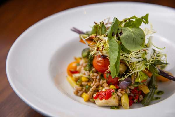 Farmer Market Vegetables & Organic Italian Farro