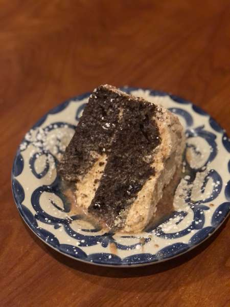 Chocolate Rum Tres Leches Cake