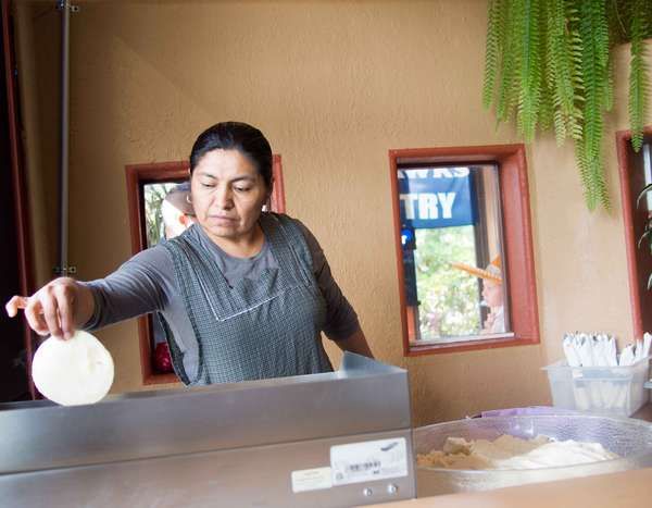 Fresh hand made Tortillas