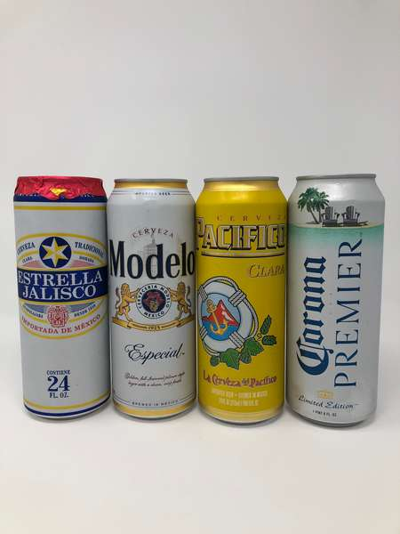 24 oz Mexican Beer Can