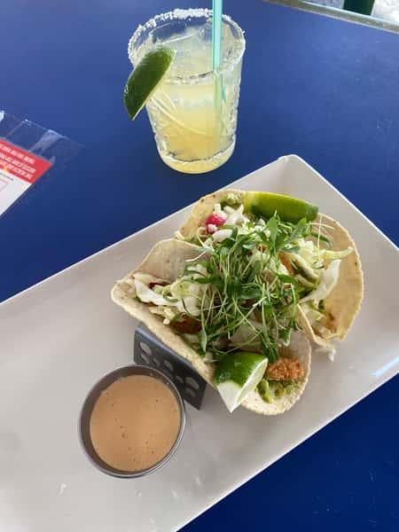 Mexican Corn Shrimp Tacos
