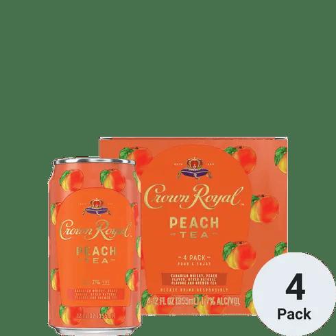 Crown Royal Cktl Peach Tea