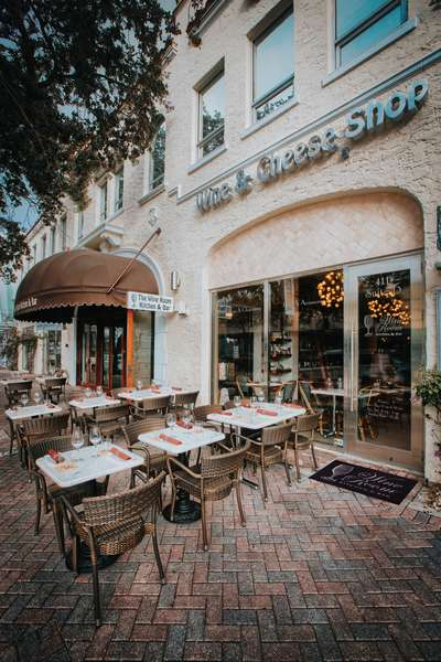 The Wine Room Delray Beach - Outdoor Seating