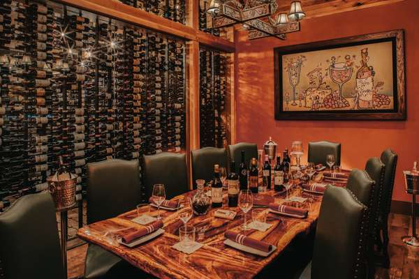 The Wine Room Delray Beach Private Dining Room