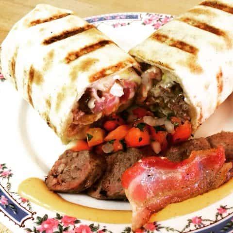 Local Breakfast Burrito