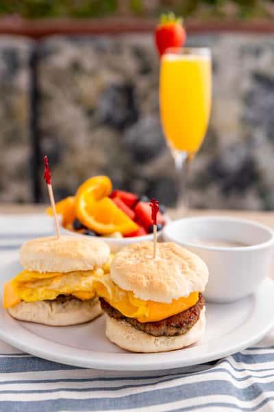 breakfast sliders