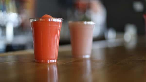 Strawberry Lemongrass Soda