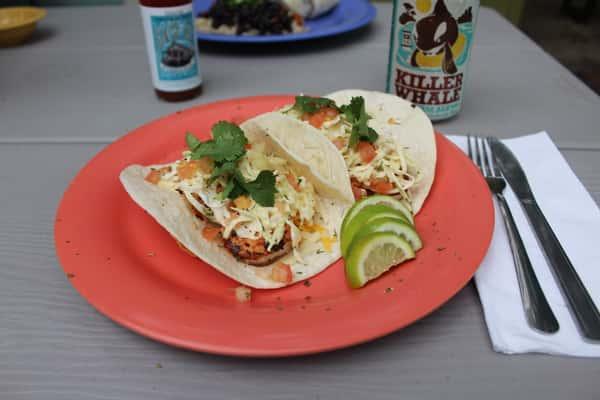 Dynamite Shrimp Tacos