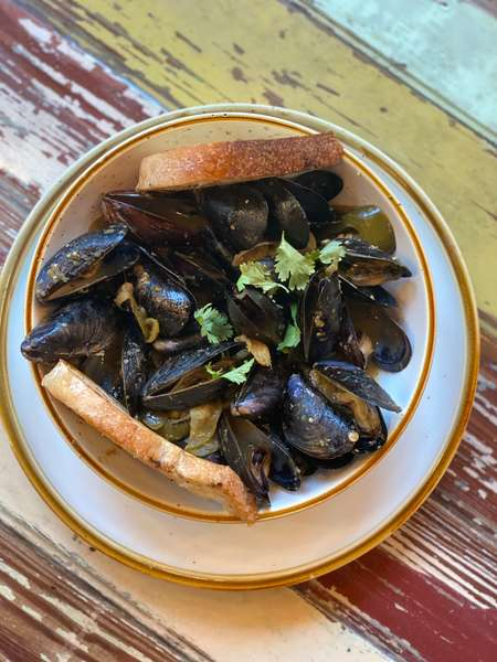Morning Mussels
