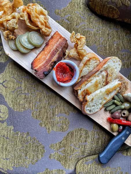 Pork & Pickle Board