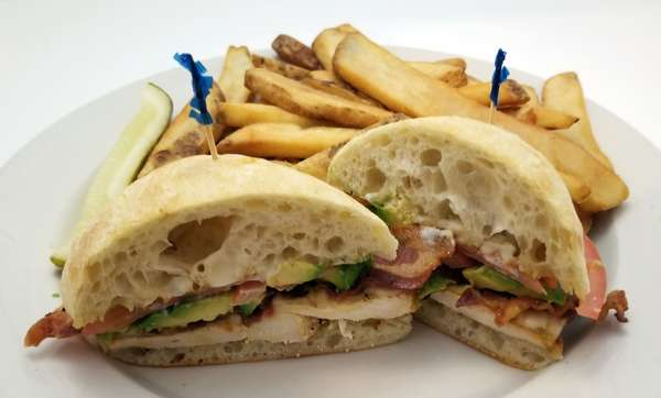 The California Chicken Sandwich