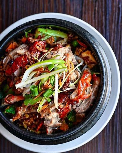 Roasted Duck Clay Pot