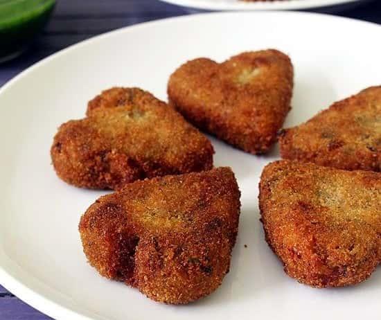 4. Vegetable Cutlets
