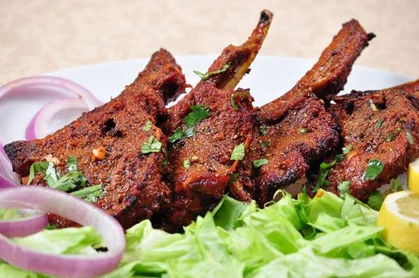 143. Lamb Chop Kabob