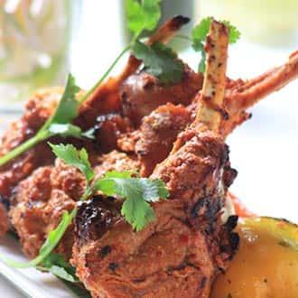 Lamb Chop Kabob