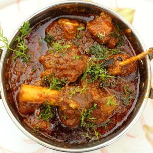 113. Andhra Lamb/Goat Curry