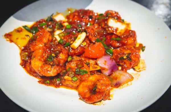 28. Chilli Shrimp
