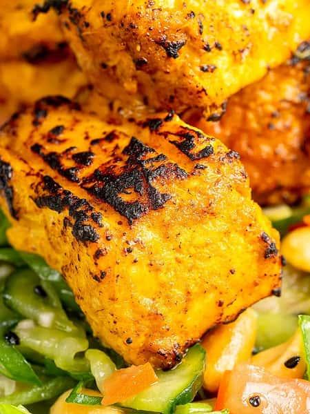 Fish Tikka Kabob