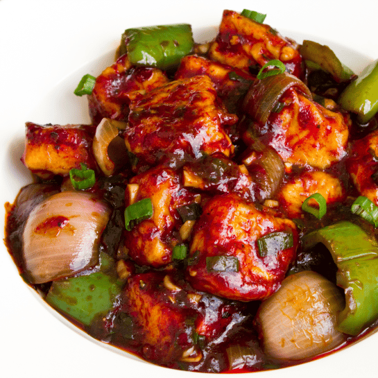 Chilli Paneer Appetizer Small