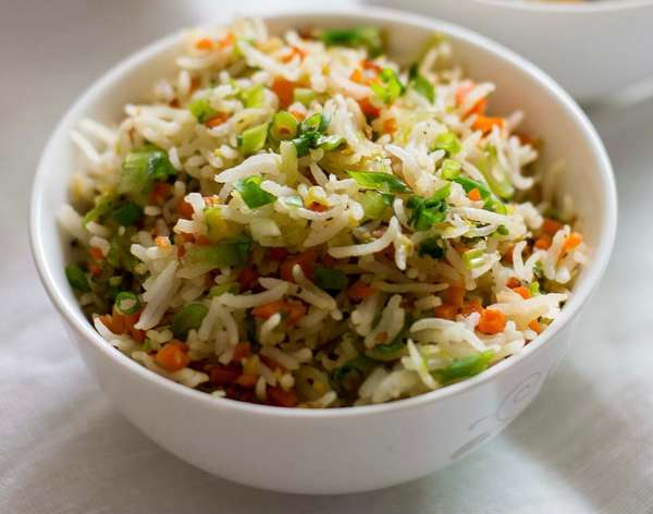 153. Vegetable Fried Rice