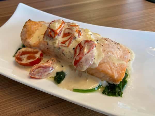 Wednesday 5/19 Creamy Tuscan Salmon