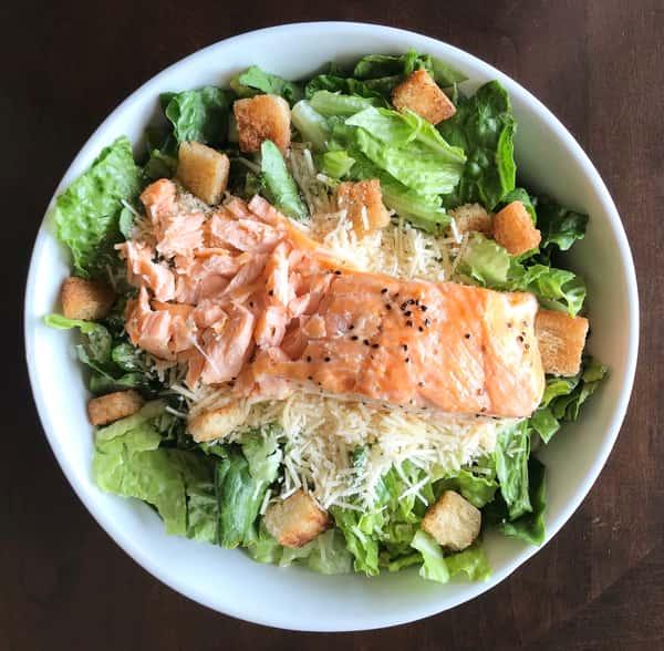 Roasted Salmon Caesar Slaad