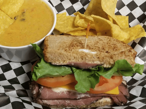 Wednesday - Roast Beef with Chicken Tortilla Soup